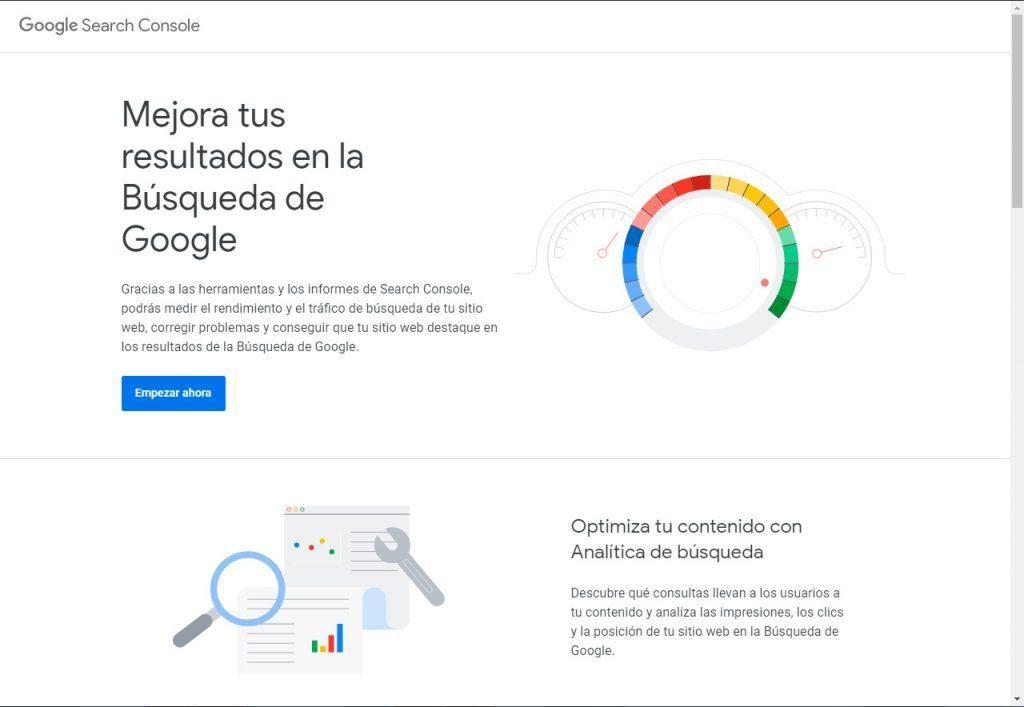 Gestionar el acceso a la cuenta de Google Search Console
