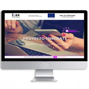 Página web de proyecto enredate