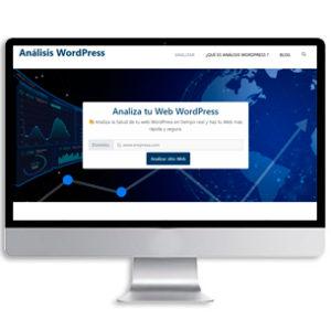 Analisis Wordpress Diseño de web en wordpress Cáceres