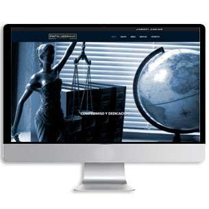 diseño web abogado